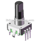 12mm rotary encoder which is used in car audio volum system adjustment