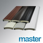 Anti- Scratch Coated Foam Slat Covering Surface 77mm Series for Workshop, Warehouse, Garage and bid Industrial Doors