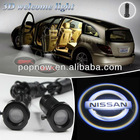 Hot !!! 20130101 Car Welcome LED light door laser projector lamp Shadow
