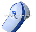 Embroidery white 100%Cotton Baseball Cap&Casual Hat