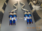 titanium exhaust muffler for E92 (M3 coupe) catback