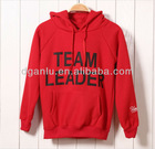 casual red cottongirl's hoodie
