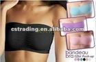 unpadded trapless bra 3pcs/set, women strapless bra, women corset