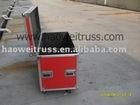 2011 Aluminum Single Rack Transport/flight case U Case with DJ Mixer case