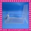 Frost Acrylic bag display