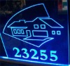 acrylic LED sign display holder