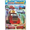 Cute Cartoon Car Laser Sticker For Kids