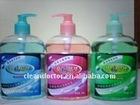 600ML hand sanitizer colourful liquid with fresh flavor