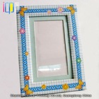 Top quality promotional handmade paper photo frame