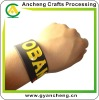 New fashion slap & snap silicone rubber bracelets AC98689