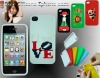 DIY cross embrioder silicone mobile phone cases