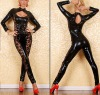 black pvc wear,sexy products S9070