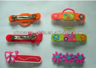 Children soft pvc 3D hair pin