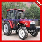 UT404 China Red farm Tractors with enclosed cabin