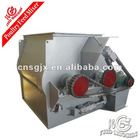 Double-shaft paddle chemicals mixer