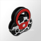 Non-toxic silicone earphone wire holder with low cost
