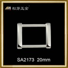 hot sell & fashion alloy square ring manufacturer for handbag