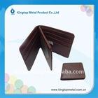 2012 new fashion men's wallet