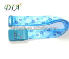 [DIA] 2012 new design colorful luggage belt with lock buckle (factory)