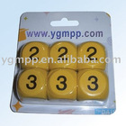 Sell YGM-WD001 3CM Wooden Dices
