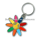 Enamel various color Metal Keychain, keychain