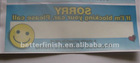 high quality fashion PVC static sticker