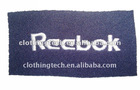 garment woven label patch embroidery label