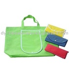Recycled PET Nonwoven Foldable shopping bags
