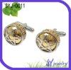 OEM men's fashion stainess steel cufflinks