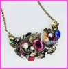 necklace,free shipping,lady colorful necklace A148