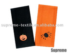 Halloween Series Embroidered Towel