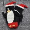 2012 fashion lovely children knitting animal winter gloves