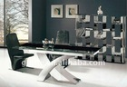 Extendable Glass dining table AW608