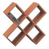 bamboo CD rack