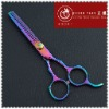 Titanium Rainbow Color Hair Thinning Scissors
