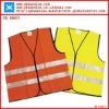 high visibility reflective safety vest with en471