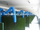 Multi-positions Central Welding gas extraction system