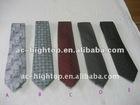 silk tie/polyester micro fiber tie