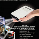 50 Lumens Small LED Projector