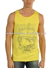Men's regular fit tank tops