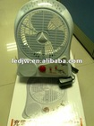 high power led rechargeable fan
