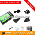 4.3'' car running data recorder with gps logger & car DVR Combo