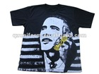Custom black election campaign t shirt printing