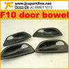 F10 Interior accessories Carbon Fiber Inside Door Bowel for BMW