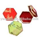 fashion hexagon trinket box with jewelry box