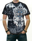 2011 men's fashionable printed t-shirt