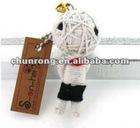 handicraft fabric Voodoo string Dolls cute boys doll,little doll,