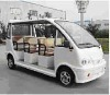 80 km to 120 km long distance travel electrical sight-seeing car with 6 seats