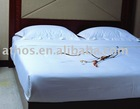 100% cotton plain bedding set for hotel/home using