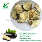 new harvest crop dehydrated dried vegetables /dried eggplant